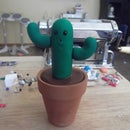 Cute Polymer Clay Cactus