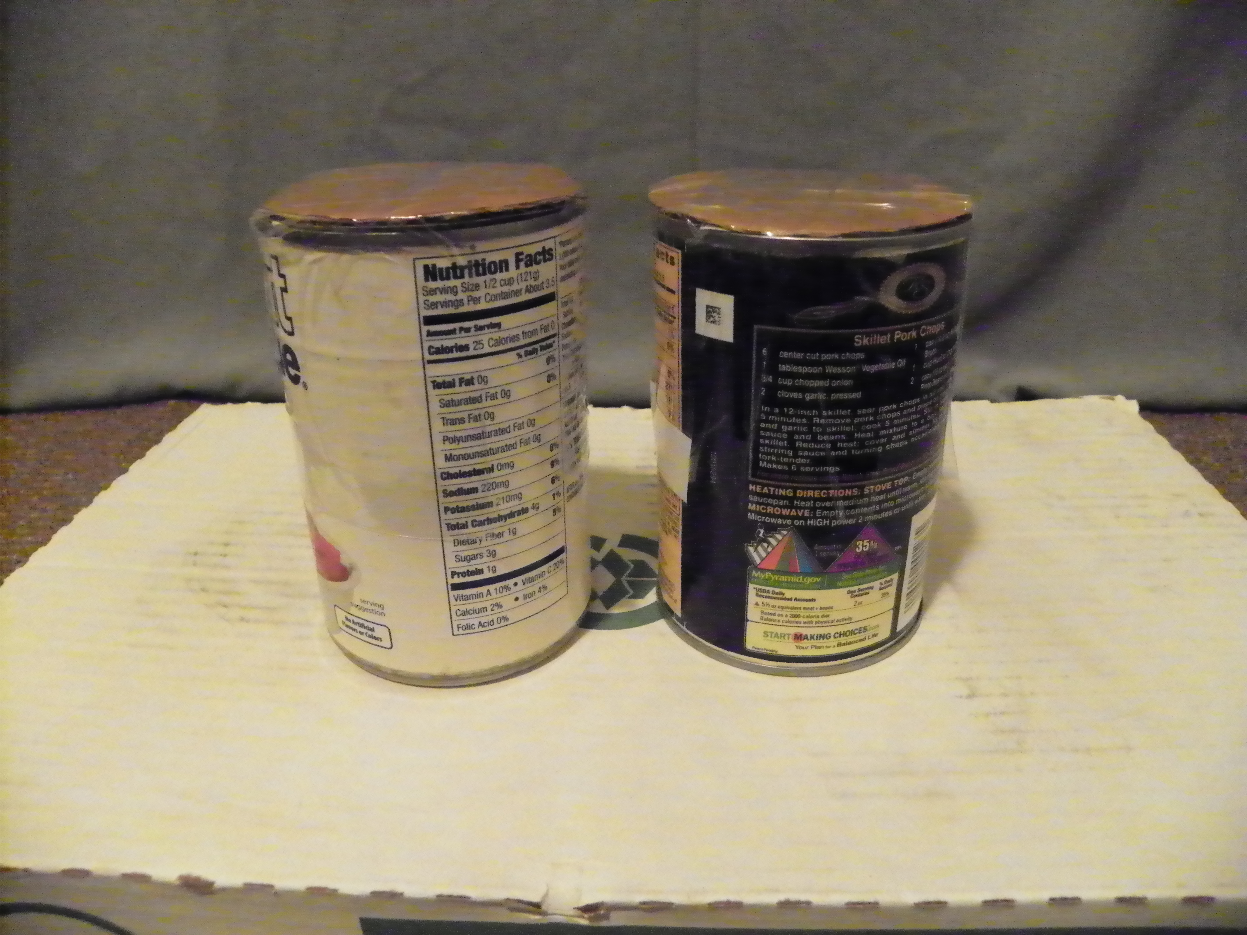 Picture of Stuffing Cans