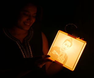 3D Printed Lithophane Lantern: a Personalized Holiday Gift