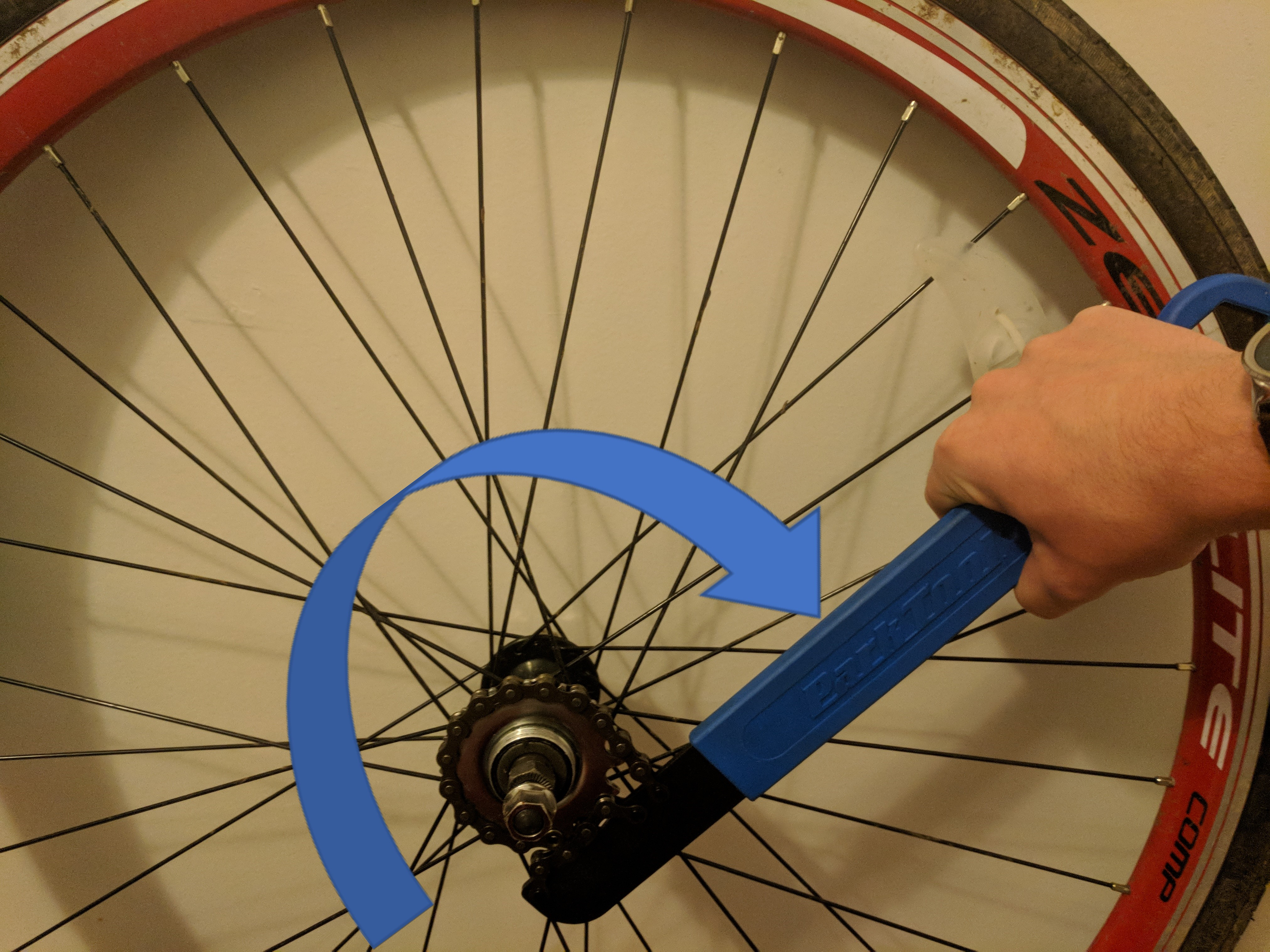 Picture of Install the New Cog