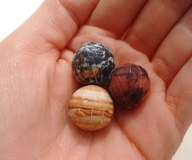 Marble Planets