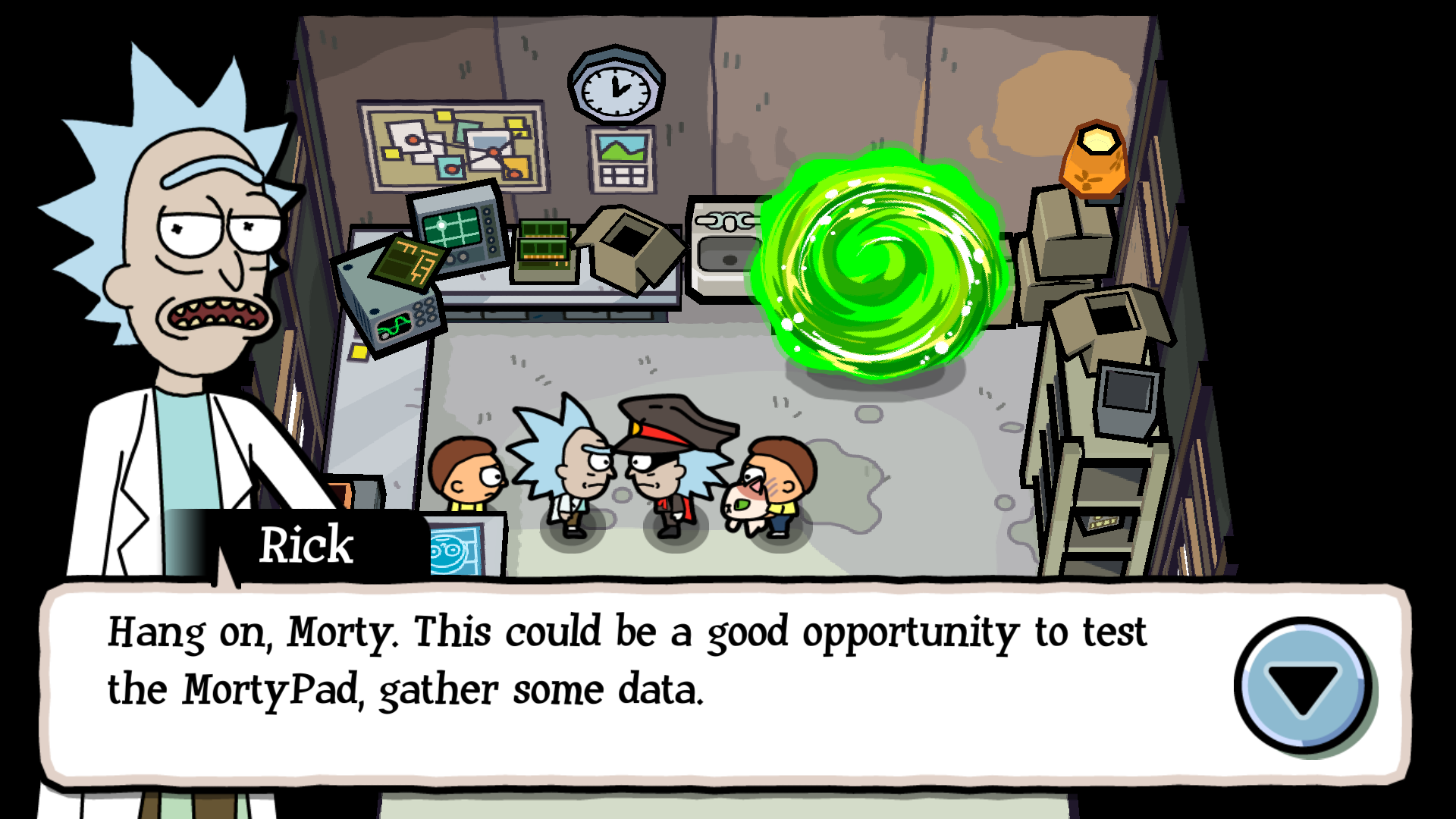 Picture of How to Beat Pocket Mortys With Only the Original Morty