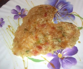 Healthy Onion Rava Uthappam