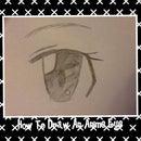 How To Draw An Anime Eye