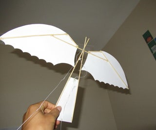 Easy to Make Da Vinci Inspired Kite
