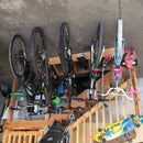 Garage Bike Rack, Simple & Clean Design