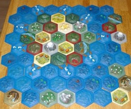 Constructing a 3D Settlers of Catan Board