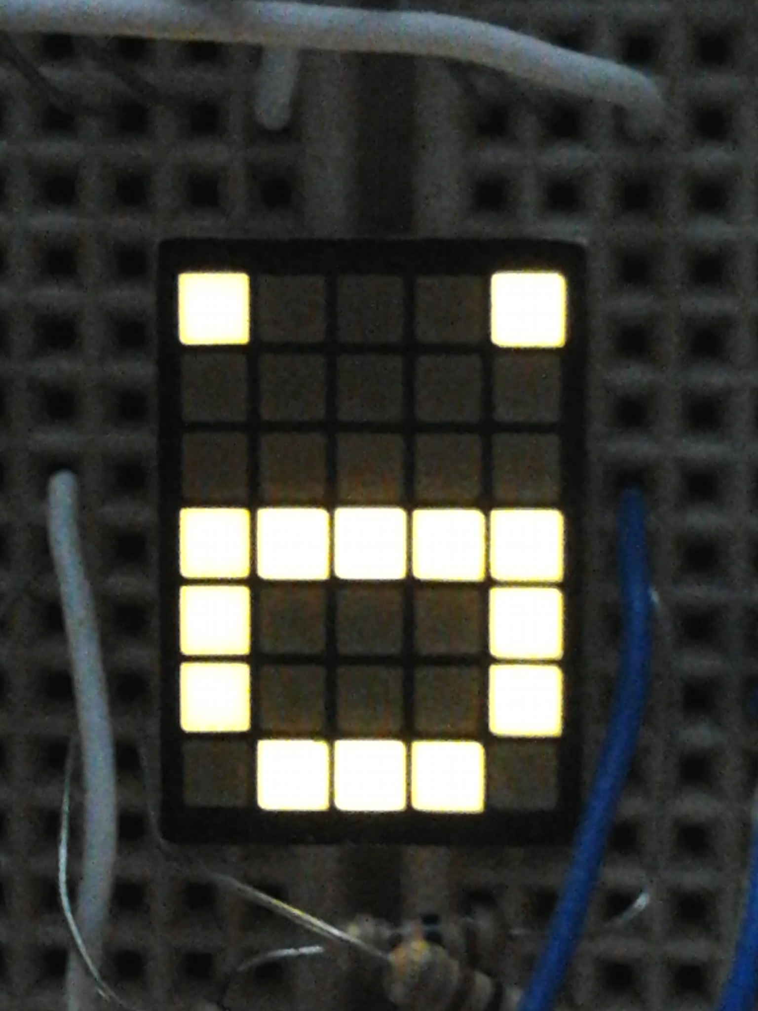 Picture of Dot Matrix Smiley Singing With Music