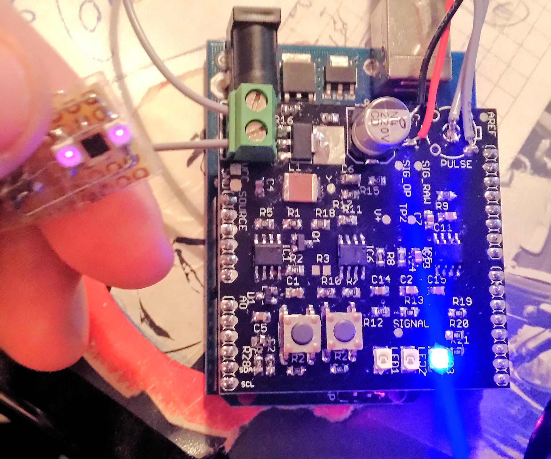 LED Pulse Sensor (PPG) for Arduino: 5 Steps