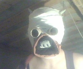 How to make easy and cheap Tusken raider mask
