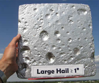 Picture of Create inexpensive hail pads - Citizen Science Contest