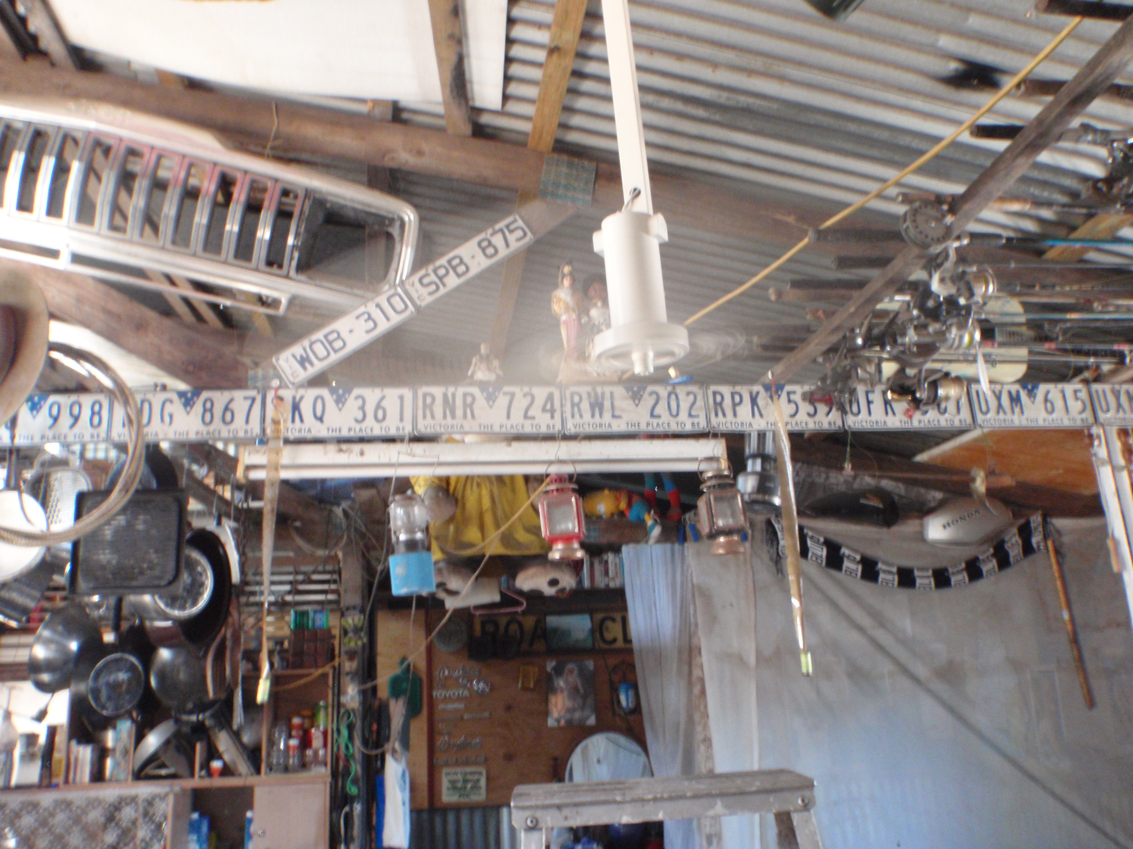 Picture of Solar Powered Ceiling Fan (Chirstmas Gift)
