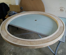 The Giant Plywood Portal (1½m across)