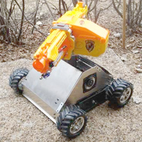 Picture of RC Nerf Tank, Rose Pizza, Top Secret Bunker