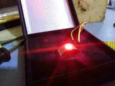 LED Engagement Ring