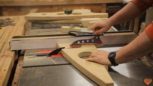 Cutting & Gluing Plywood Blocks