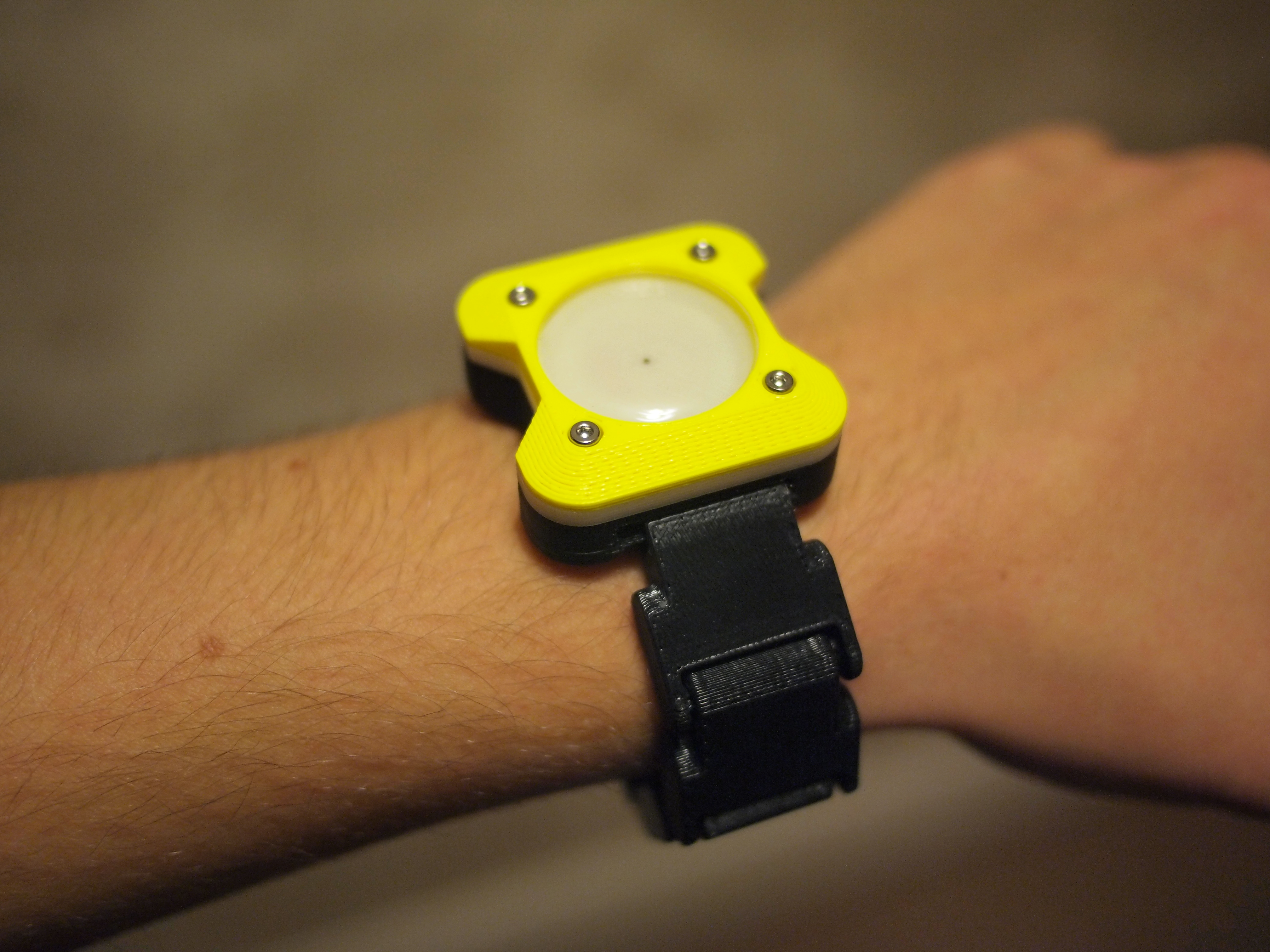 Picture of 3D Printed Wrist Watch (which Almost Works)