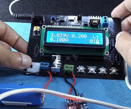Battery Tester and Charge Monitor