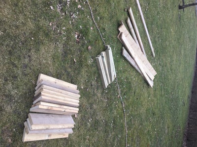 Sawing the Pieces for the Garden Beds.