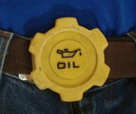 Oil Cap Belt Buckle