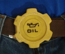Oil Cap Belt Buckle