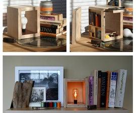 Secret Compartment Plywood Lamp