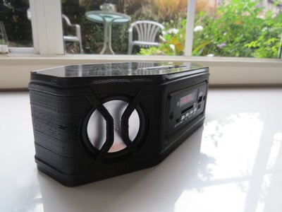 3D Printed Portable Bluetooth Stereo Speaker