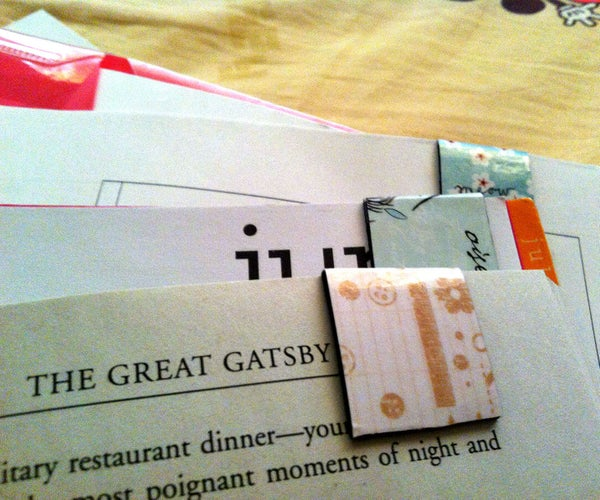 DIY: Magnetic Bookmark Clips