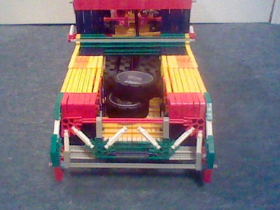 Knex Bagged Pick-up Truck.