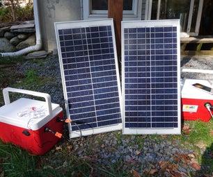 30W Portable Solar Power Generator