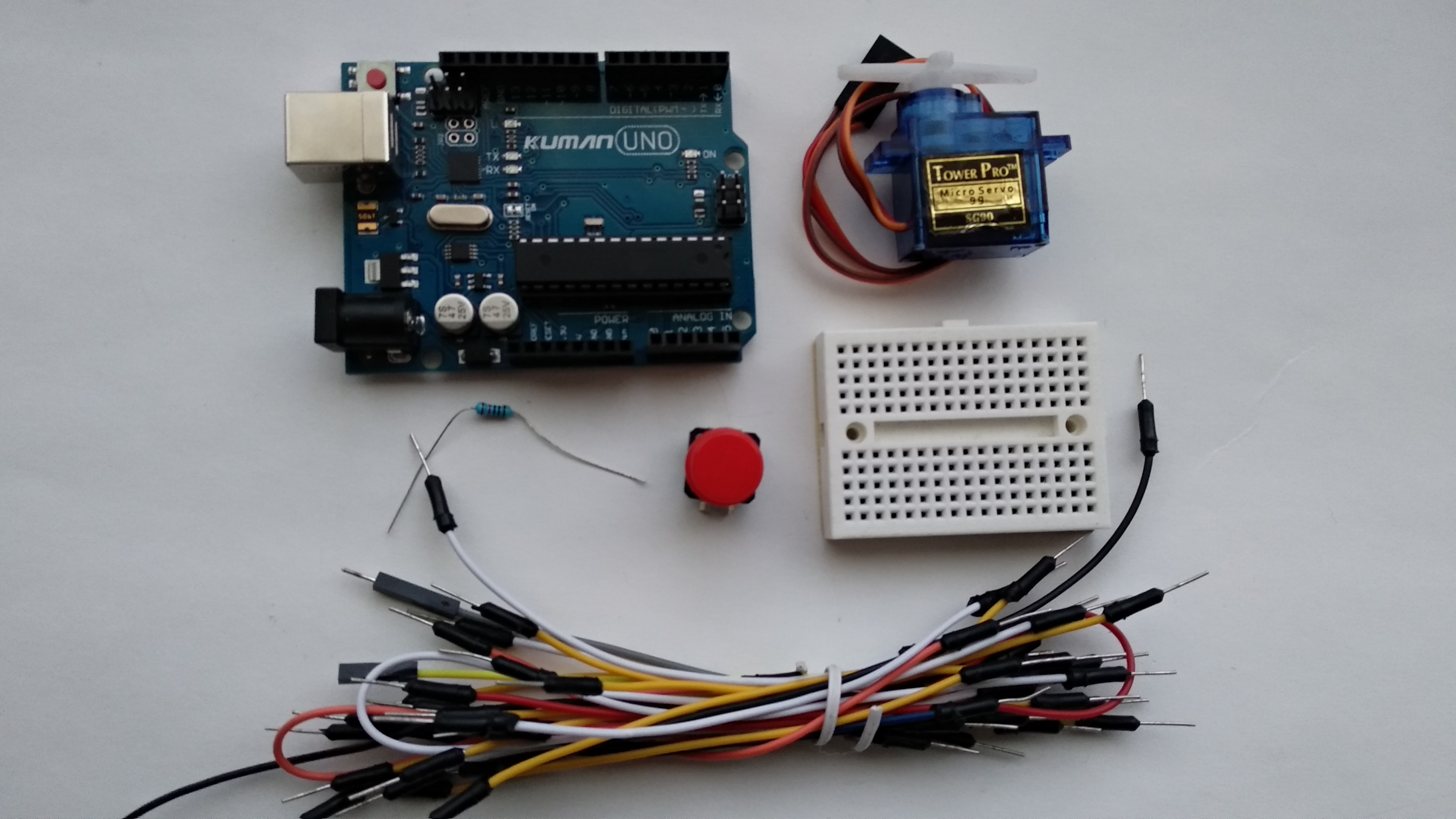 Picture of Arduino Servo Tutorial