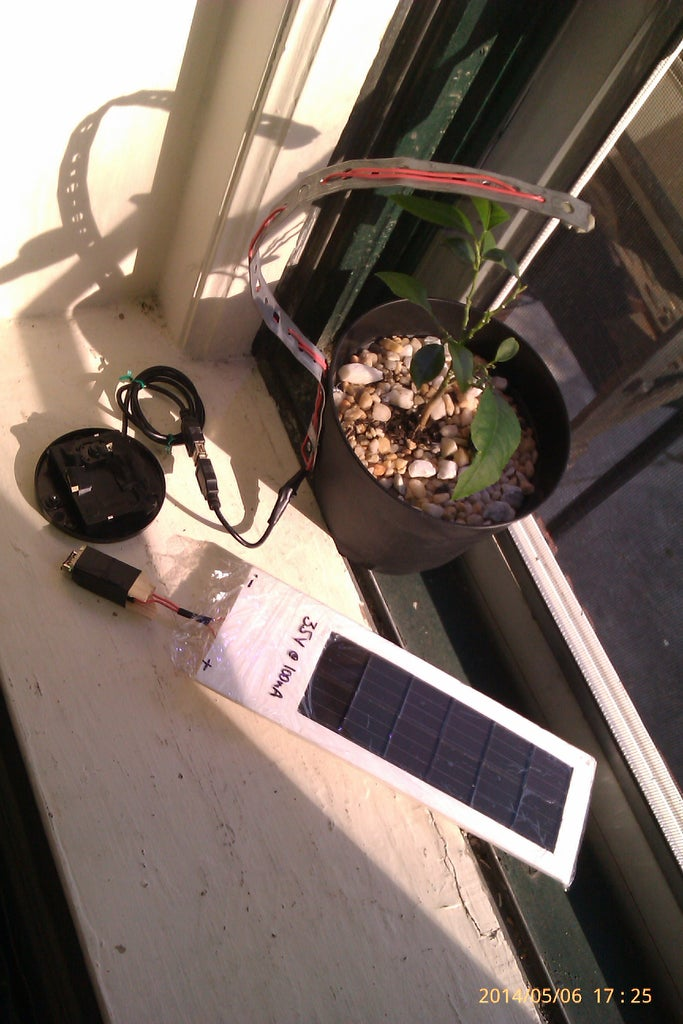 Solar Charge Your Led Grow Lights 3 Steps