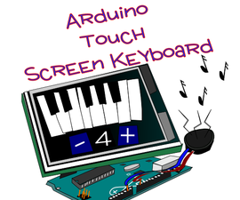 Arduino Touch Screen Keyboard