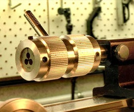 Machining A Tailstock Die Holder For The Sherline Lathe