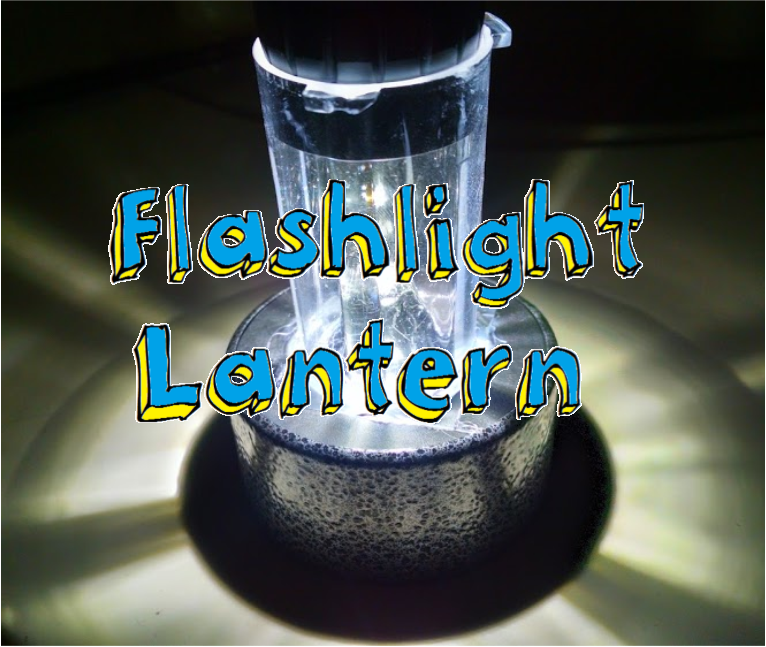 Picture of Convert Your Flashlight Into a Lantern!