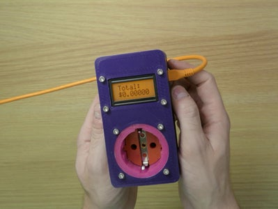 Arduino Energy Cost Electrical Meter Device