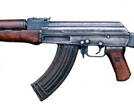 How to make a Cardboard AK-47
