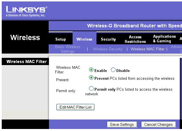 Picture of Is a MAC whitelist more or less secure than WPA/WEP security?
