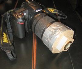 How to make a fish eye lens for a Nikon D-90 Digital SLR for $16