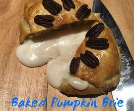 Baked Pumpkin Brie
