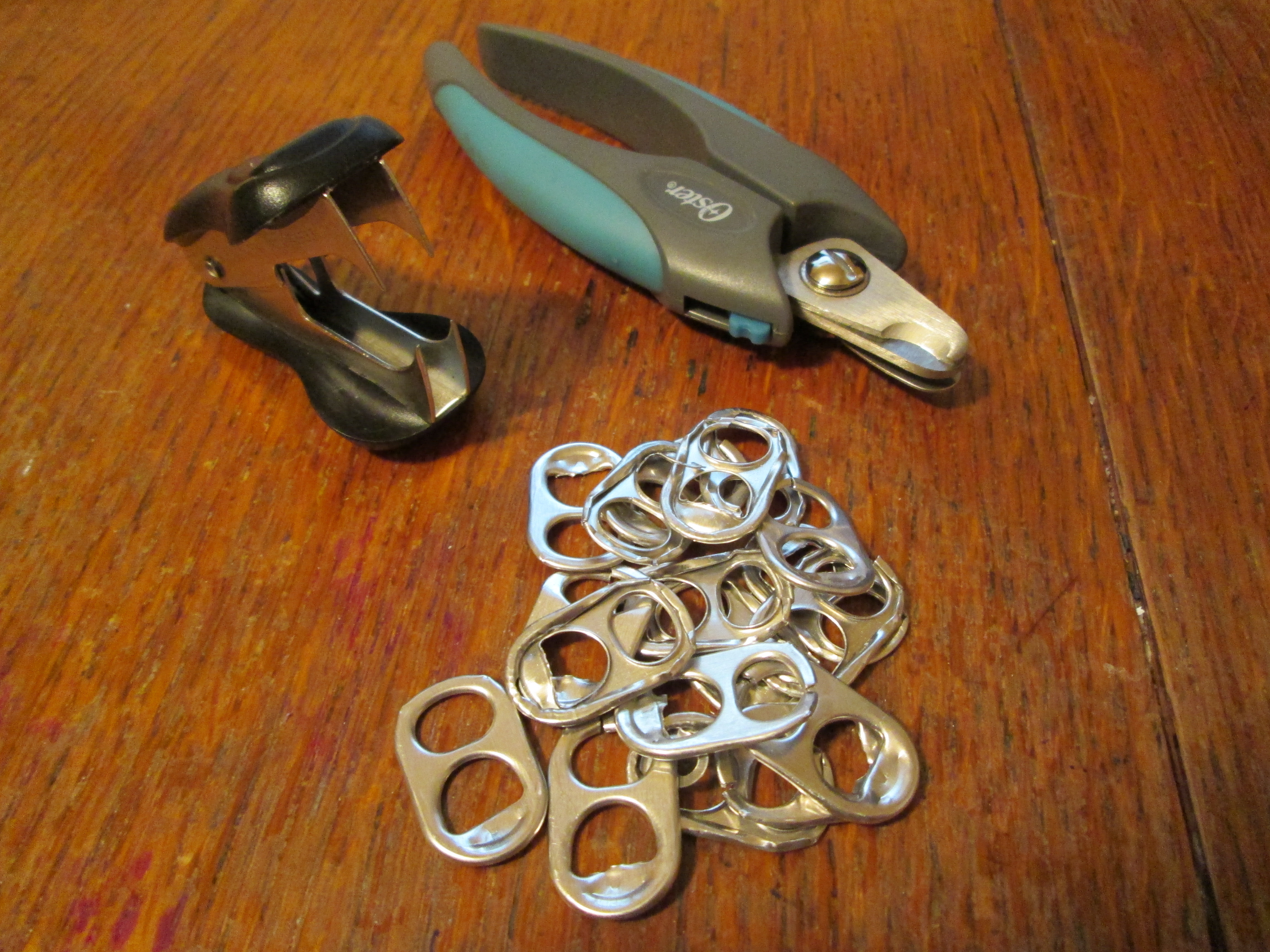 Picture of Getting Pop Tabs Ready.