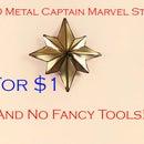 Metal Captain Marvel Star for $1