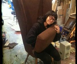 Tim Burtonnish Mad Hatter Tea Party Chair!