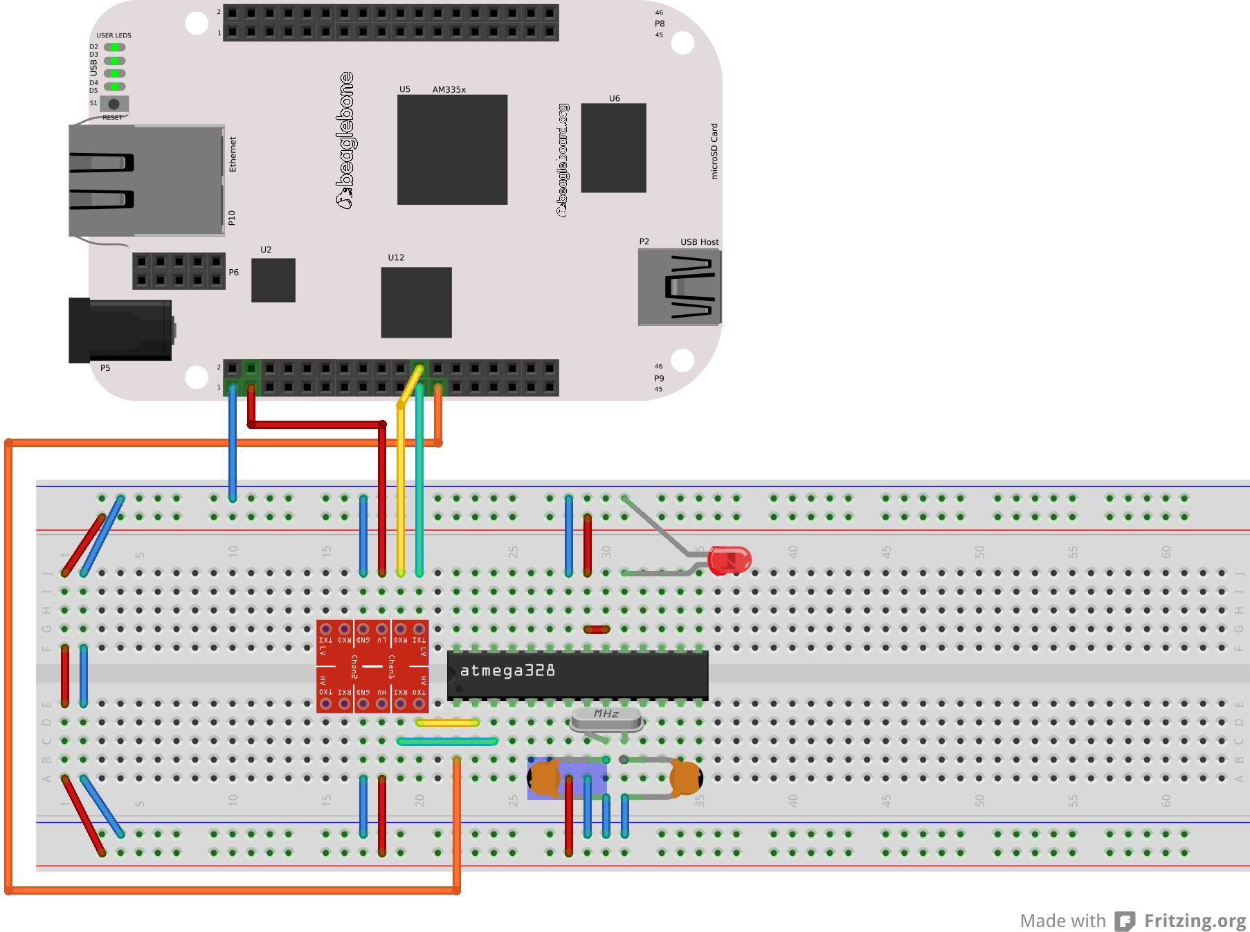 Program An Arduino Using Beaglebone Without Usb 5 Steps 555watchdogtimercircuit Digital Logic Purpose Of Diode In This 555