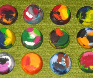 MINI-MUFFIN CRAYONS... A New Life for Broken Crayons!