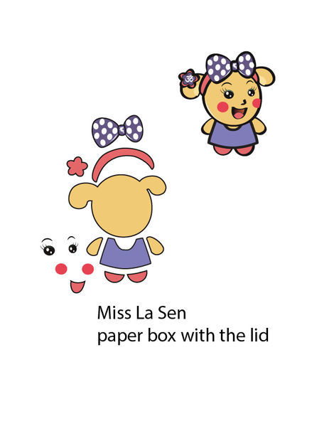 Picture of Download This Pattern for the Miss La Sen Shape. Print It in A4 Size Paper