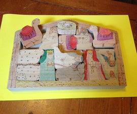 Puzzle Piece Nativity