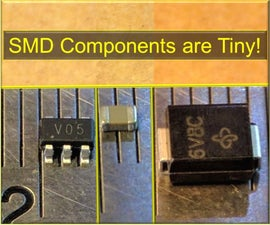 How to Solder SMD / SMT Components With a Soldering Iron
