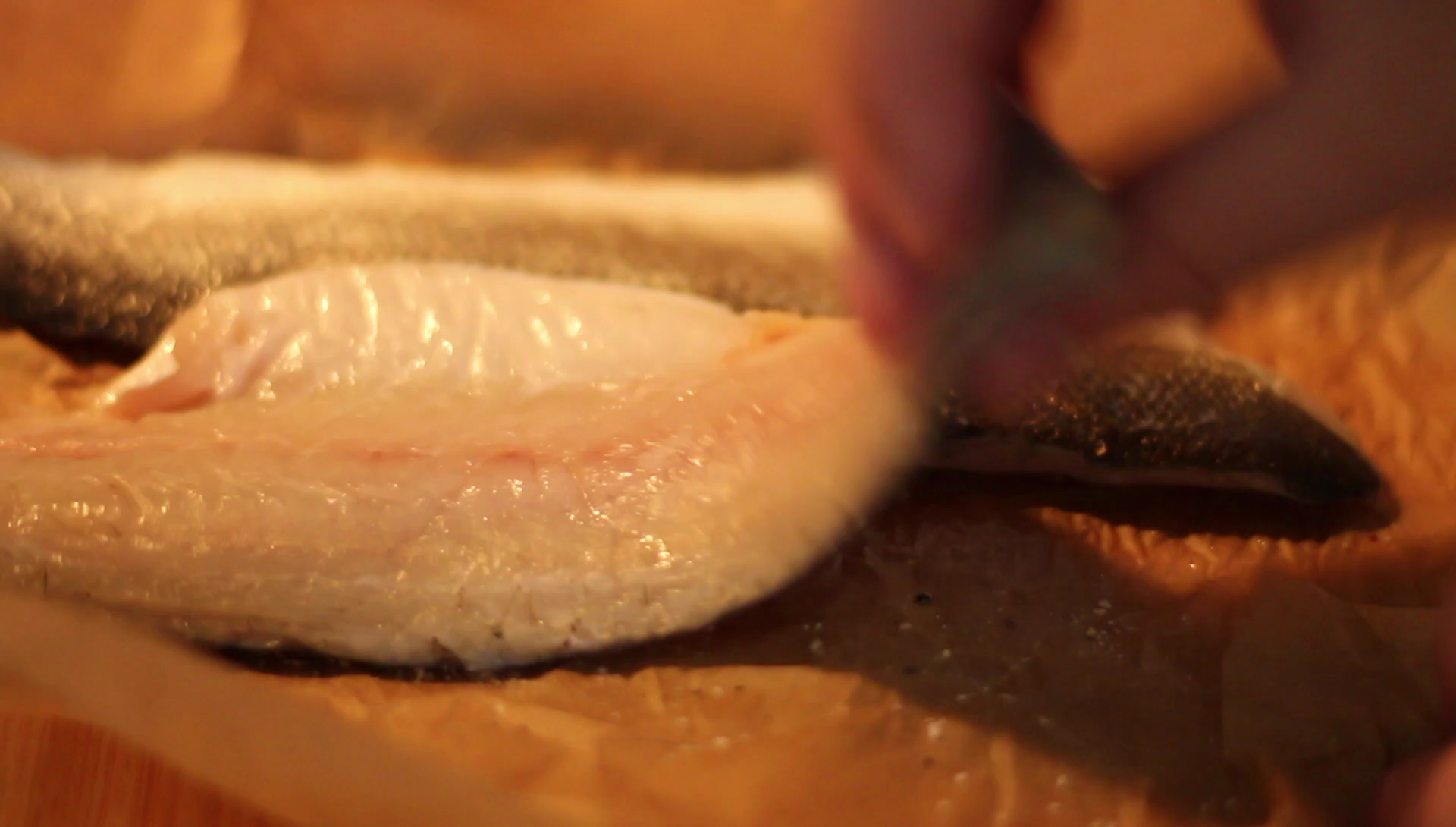 Picture of Get Those Pans Hot - Fish Prep