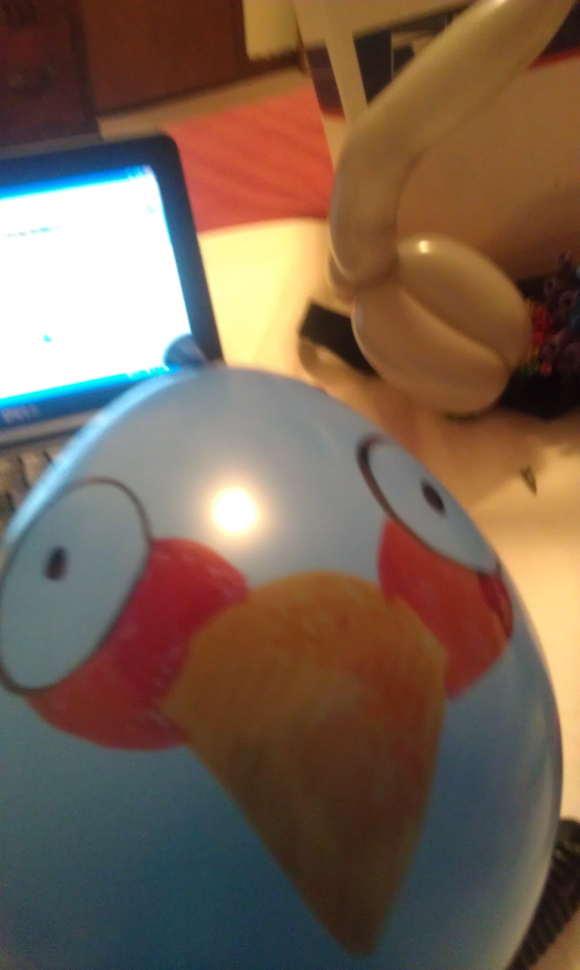 Picture of Angry Balloons: Exploding Blue Bird